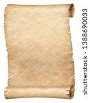 ancient papyrus or parchment... | Shutterstock . vector #1388690033