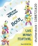 live music festival start... | Shutterstock . vector #1388721620