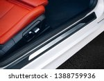 Modern Car Door Threshold. Car...
