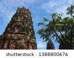 ayutthaya province  thailand  ...   Shutterstock . vector #1388800676