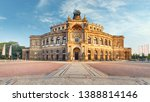 Dresden - Semperoper, Germany at sunrise