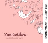 angle vintage background.... | Shutterstock .eps vector #138884150