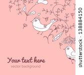 angle vintage background.... | Shutterstock .eps vector #138884150
