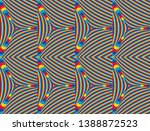 color seamless pattern with... | Shutterstock .eps vector #1388872523
