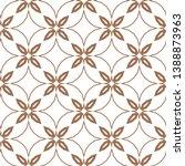 seamless vector pattern.... | Shutterstock .eps vector #1388873963