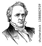 James Buchanan, 1791-1868, he was the fifteenth president of the United States from 1857 to 1861, & U.S. senator from Pennsylvania, famous for being the last president before the start of civil war.