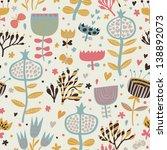 bright summer wallpaper with...   Shutterstock .eps vector #138892073