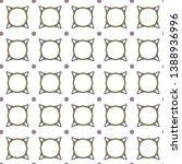 geometric ornamental vector... | Shutterstock .eps vector #1388936996