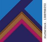 abstract vector geometric... | Shutterstock .eps vector #1388988353