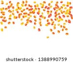 maple leaves vector background  ... | Shutterstock .eps vector #1388990759