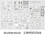Vector Set. Architectural...
