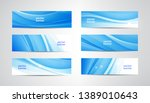 vector abstract flow wavy... | Shutterstock .eps vector #1389010643