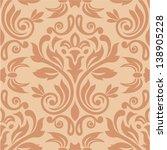 damask seamless pattern for...