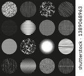 set texture for  pattern  ... | Shutterstock .eps vector #1389068963