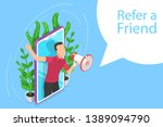 isometric flat concept of refer ...