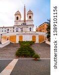 rome  italy   april 4  2019 ...   Shutterstock . vector #1389101156