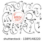 arrows circles and abstract... | Shutterstock .eps vector #1389148220