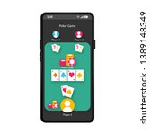 poker game app smartphone...