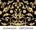 seamless pattern  background in ... | Shutterstock .eps vector #1389154166