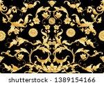 seamless pattern  background in ... | Shutterstock .eps vector #1389154166