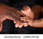An African Family's Hands...