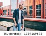 half length portrait of... | Shutterstock . vector #1389169673