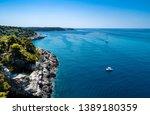 croatia sea beautiful coastline ... | Shutterstock . vector #1389180359