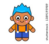 cute cartoon character for game ...