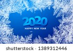 2020 vector patterns made by... | Shutterstock .eps vector #1389312446