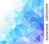 blue polygonal mosaic...   Shutterstock .eps vector #1389315449