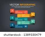 infographic elements design... | Shutterstock .eps vector #1389330479