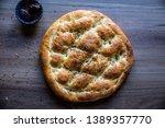 ramadan pita  ramazan pidesi ... | Shutterstock . vector #1389357770