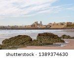view of cadiz town from beach   Shutterstock . vector #1389374630