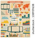 collection of infographics... | Shutterstock .eps vector #138939638