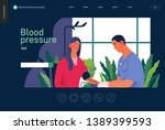 medical tests template   blood... | Shutterstock .eps vector #1389399593