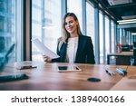 portrait of successful...   Shutterstock . vector #1389400166