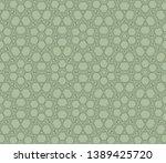 stylish repeating geometric... | Shutterstock .eps vector #1389425720