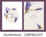 wedding invitation in the...   Shutterstock .eps vector #1389462119