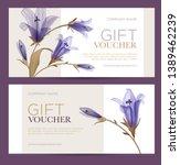 gift voucher. birthday card....   Shutterstock .eps vector #1389462239