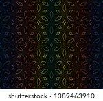 hologram abstract pattern... | Shutterstock .eps vector #1389463910