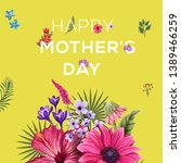 mothers day post  mother's day...   Shutterstock .eps vector #1389466259