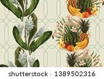 vintage beautiful and trendy... | Shutterstock . vector #1389502316
