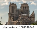 paris   france   05 05 2019 ... | Shutterstock . vector #1389510563