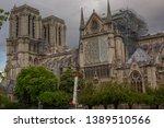 paris   france   05 05 2019 ... | Shutterstock . vector #1389510566