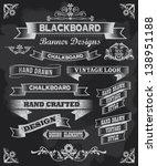 Chalkboard Calligraphy Banners...