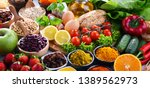 composition with assorted...   Shutterstock . vector #1389562973