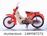 Motorcycle Honda C 70 Model...