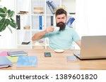 selfish secretary. selfish... | Shutterstock . vector #1389601820
