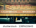 Rusted Old California Western...