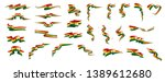 ghana flag  vector illustration ... | Shutterstock .eps vector #1389612680